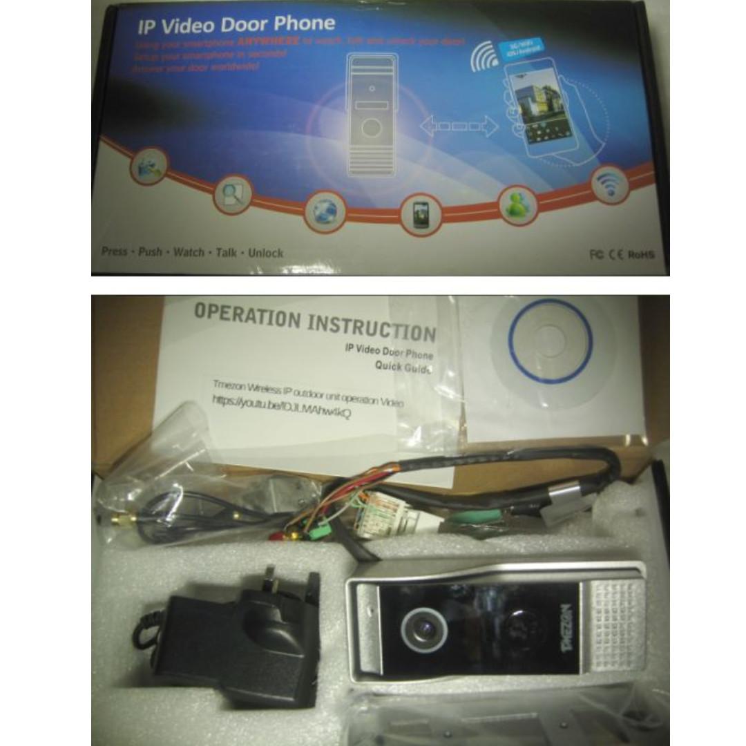 Tmezon Video Doorbell Camera (WiFi IP) only)