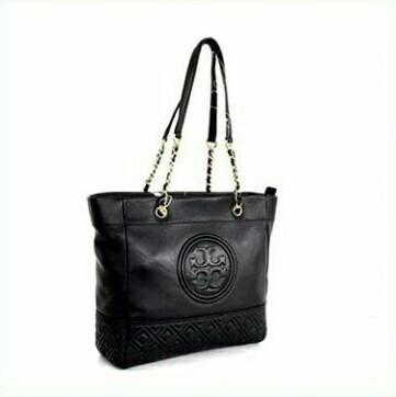Tory Burch Fleming Chain Handle Leather Tote Bag/ Tas Tory Burch Fleming Original Murah /Tas Branded