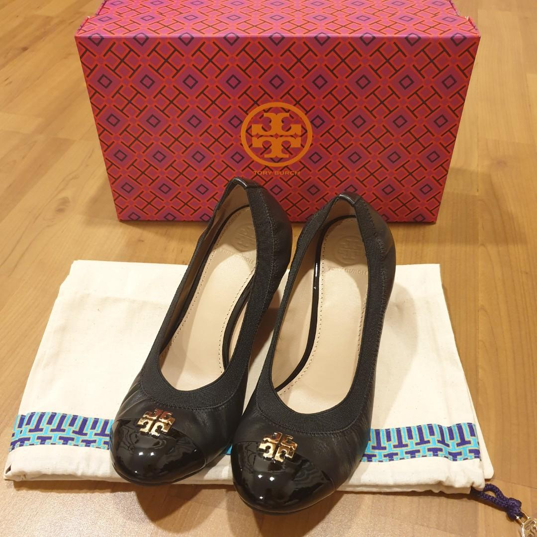 Tory Burch Jolie Wedge 65mm size 7