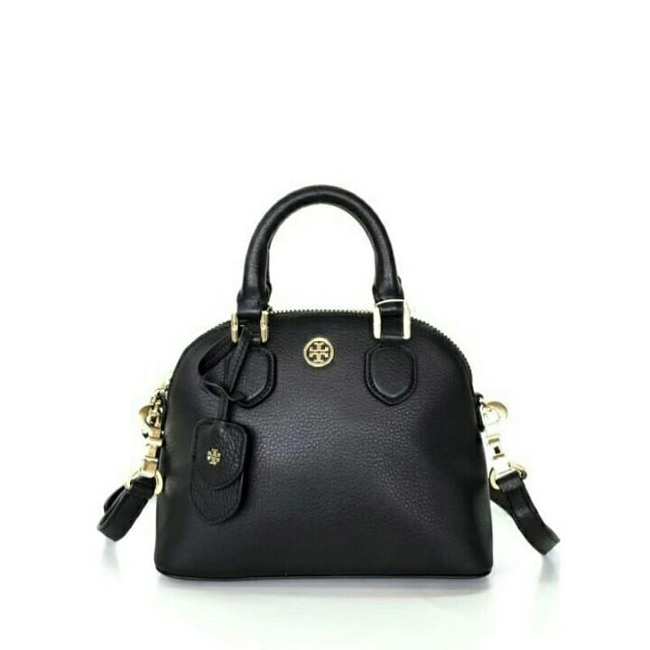 Tory Burch Pebbled Mini Dome / Tas Tory Burch Pebbled Mini Original Murah / Tas Tory Burch Authentic