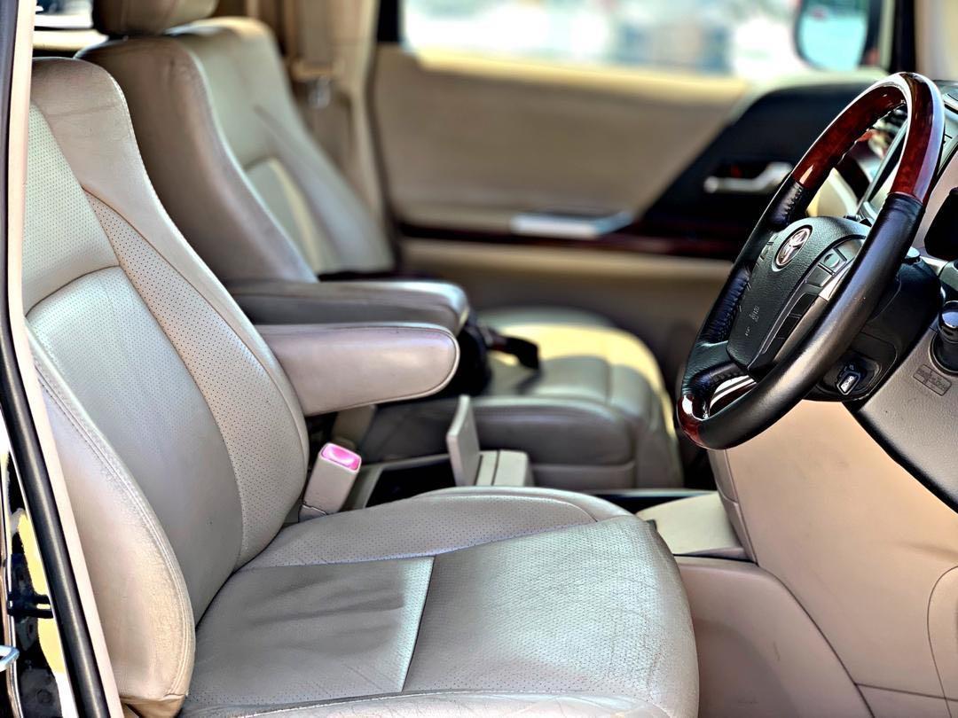 TOYOTA ALPHARD 3.5 V6 FULLSPEC 7 SEATER PILOT SEAT LEATHER SEAT