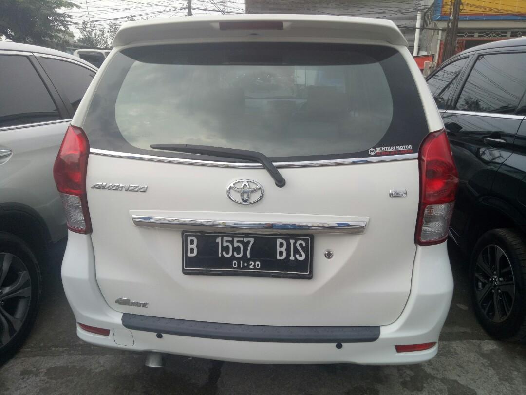 Toyota Avanza G AT 2015