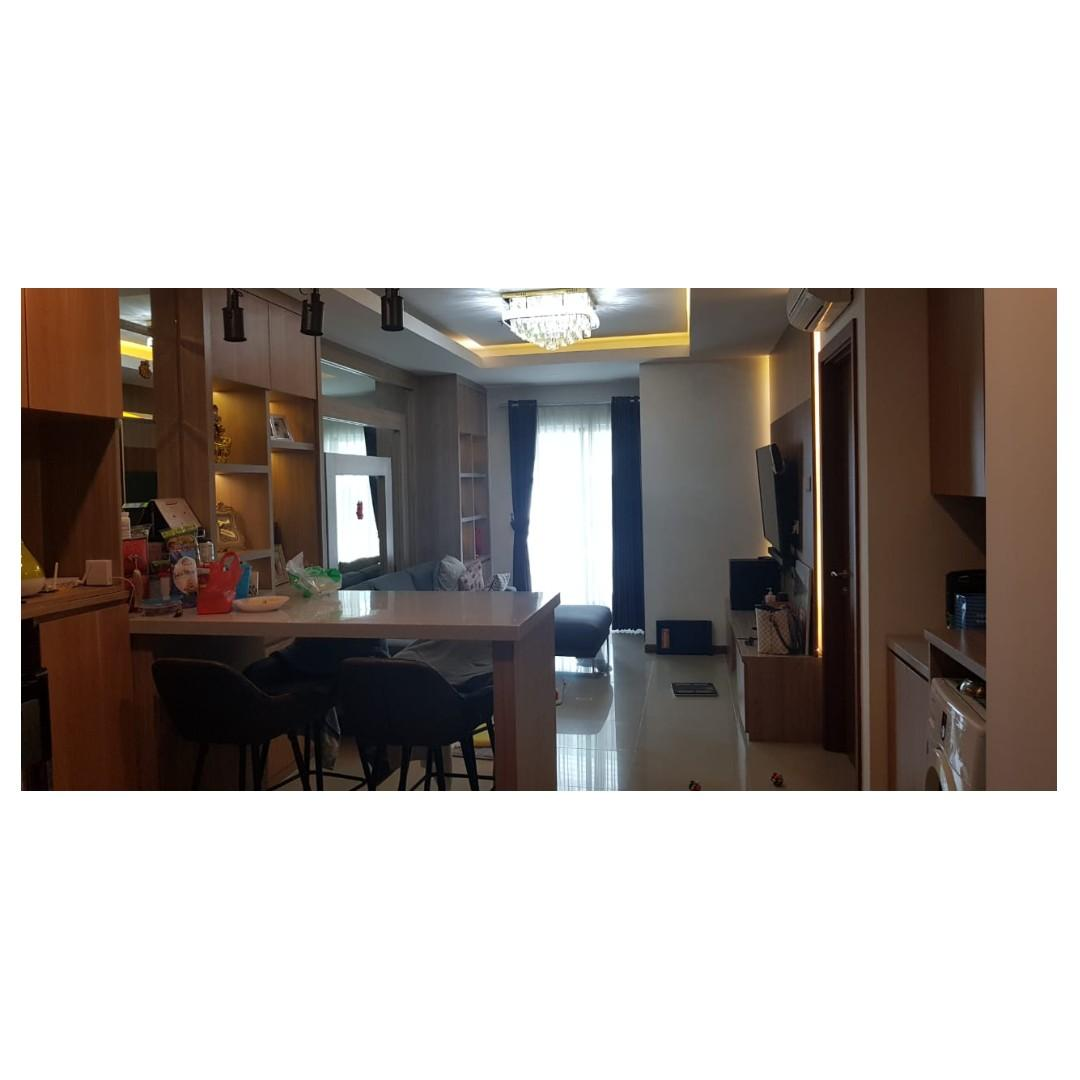 Unit Condominium Greenbay 2 kamar tower L