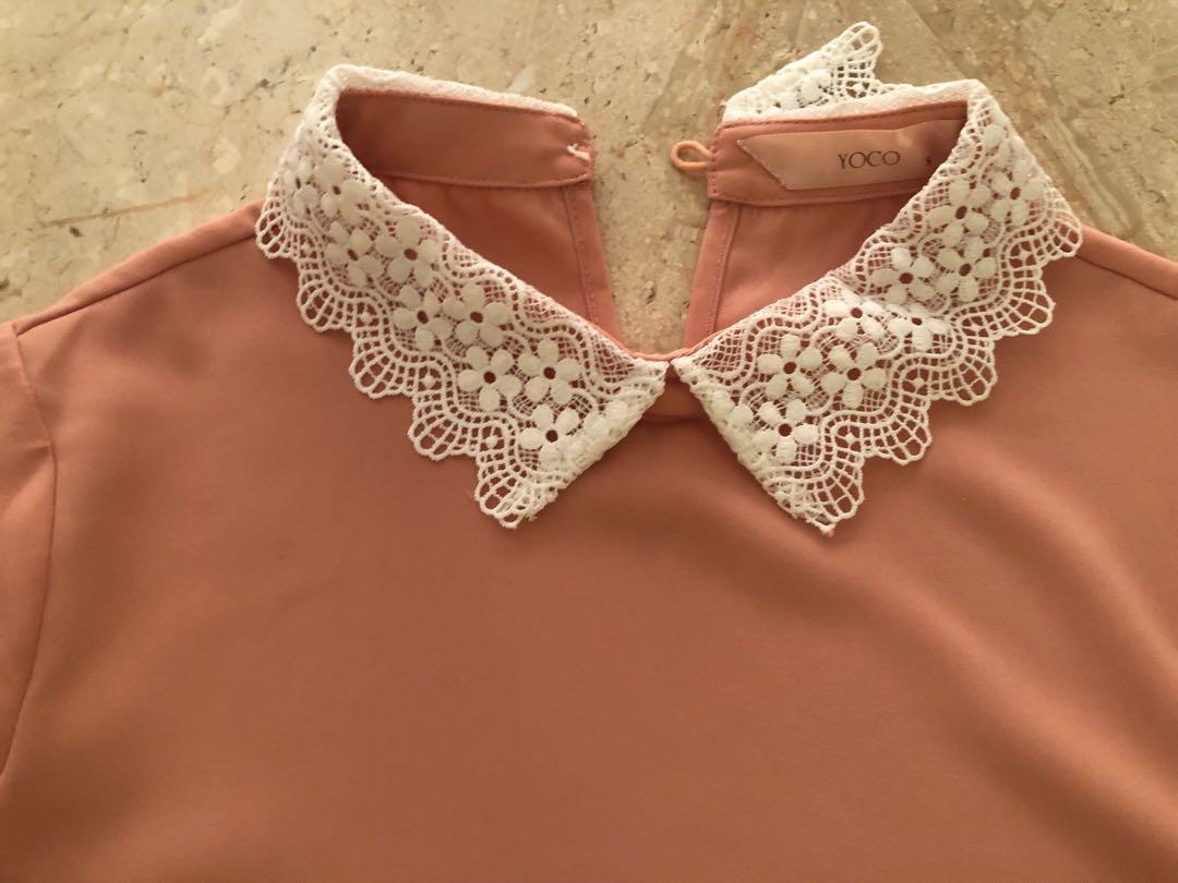 YOCO - Collar Blouse