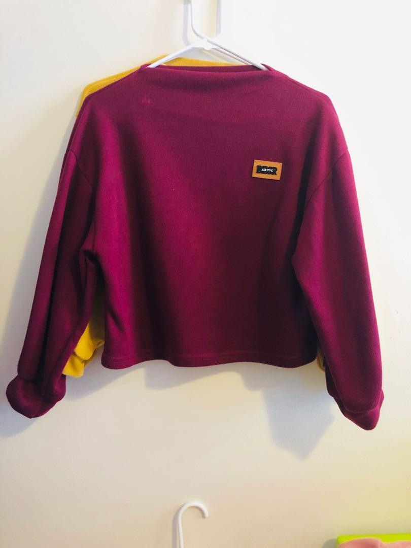 Zaful Croptop Sweater