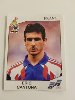 Panini Euro 92 Cantona