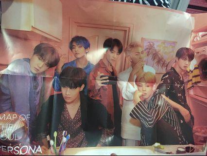 (WTS) BTS MOTS: Persona Poster ver 2