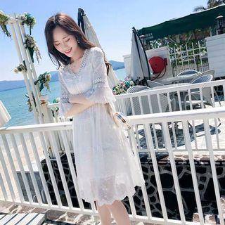 BNWT Babydoll Korean Lace Sun Dress