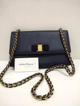 Salvatore Ferragamo Vara Leather Bag