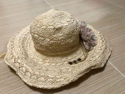 🚚 渡假風大草帽