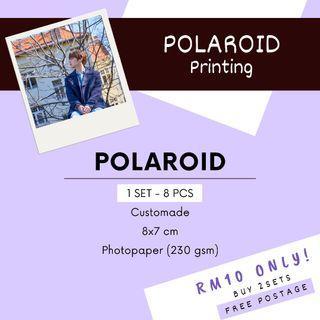 Customade Polaroid Printing Service