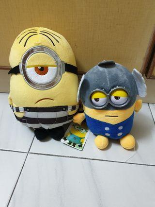 Minions thor soft toys