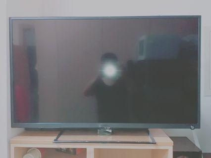 二手 聲寶 EM-42FDO8T 超薄型 LED 液晶電視