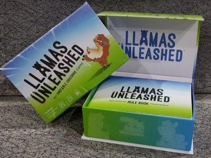 Llamas Unleashed by creator of Unstable Unicorn