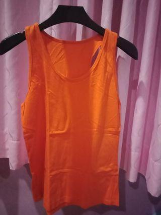 Tanktop Orange / oren #BAPAU