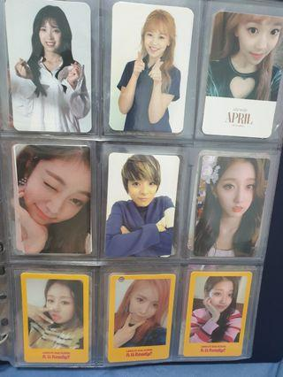 Girl Groups Photocards