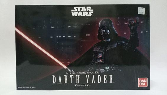 Star Wars 星球大戰 Darth Vader  黑武士 1/12 Scale Plastic Model Kit Bandai#MTRssp