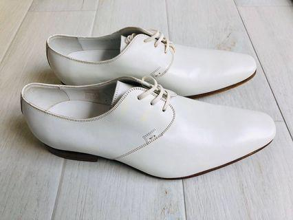 New Dior White Formal Dress Derby Shoes