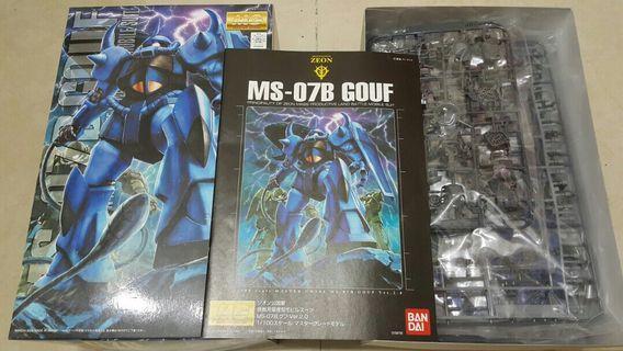 高達模型 MG Gouf 2.0 老虎