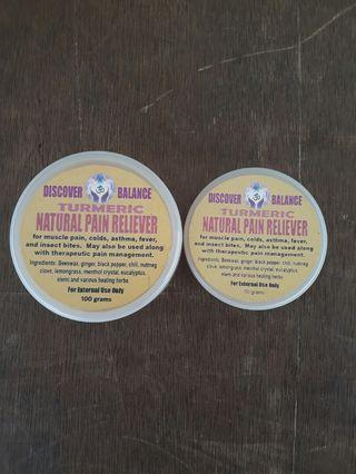 TURMERIC Organic Pain Reliever
