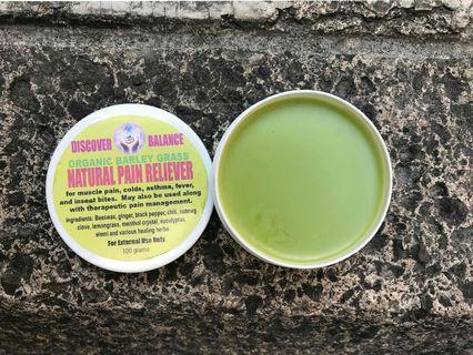 BARLEY GRASS Organic Pain Reliever
