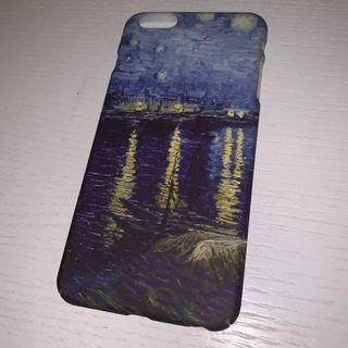 全新iPhone 6s / 6s plus (6s+)  梵高星空 The starry night case 電話殼