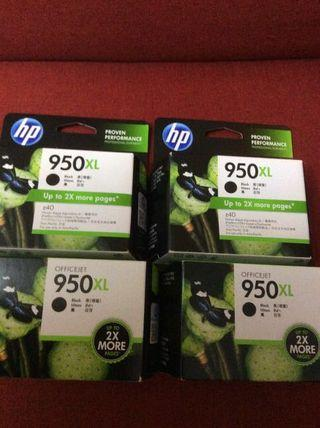 HP Ink Cartridges 950 XL