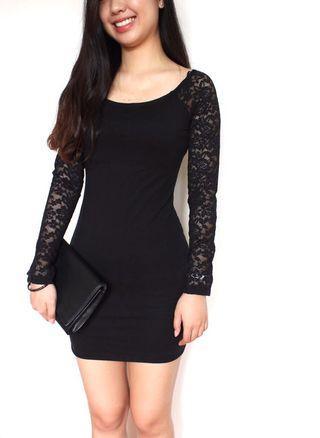 🆕 Forever 21 Black Lace Dress