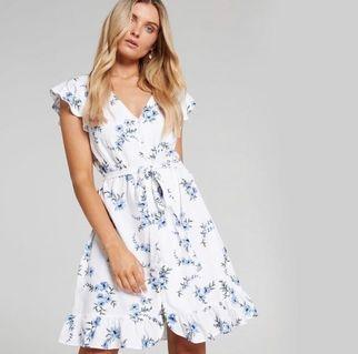 Just Jeans Australia Floral Button Down Dress