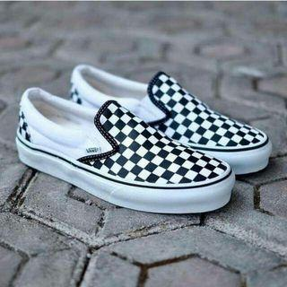 Vans slipon checkerboard
