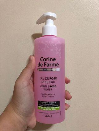 Corine de farme gentle rose water