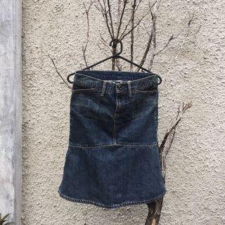 Gap jeans skirt/denim skirt/rok jeans