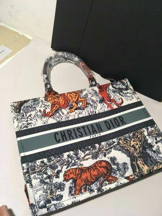 Ready Stock High Grade Quality Dior Book Tote Bag