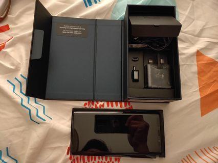 🚚 Samsung Note Midnight Black