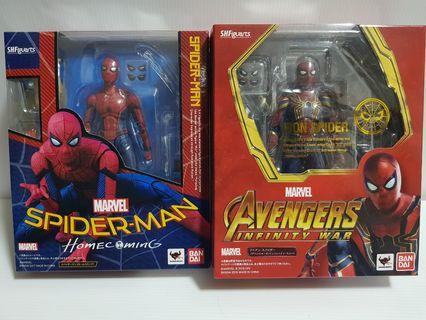 SHF Spider-Man (Homecoming & Infinity war)
