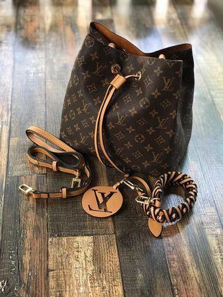 Ready Stock High Grade Quality LV Neo Noe Bag
