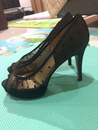 Nine west Original black lace shoes