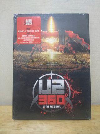 🚚 U2 360度跨世紀演唱會 360° AT THE ROSE BOWL DVD