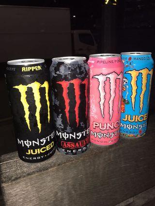 Monster energy limited edition