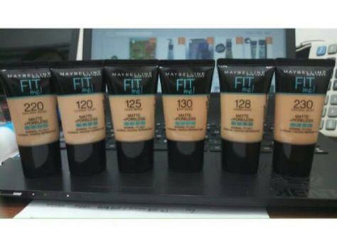 Maybelline fitme fit me foundation tube (travel size)