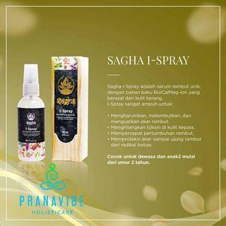 Sagha ispray (nutrisi rambut)