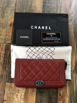 Ready Stock Premium Quality Chanel Long Wallet
