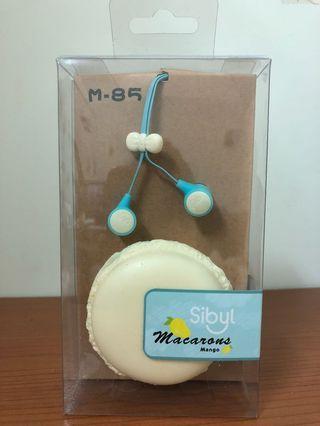 馬卡龍造型耳機