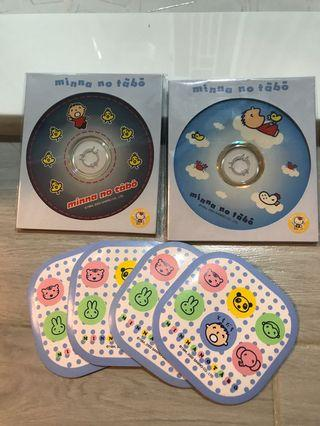 MINNA NO TABO MINNA NO TABO大口仔 CD-R + 杯墊