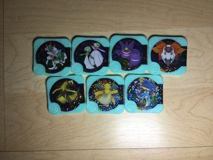 Pokemon Tretta U4 hyper class/3 stars