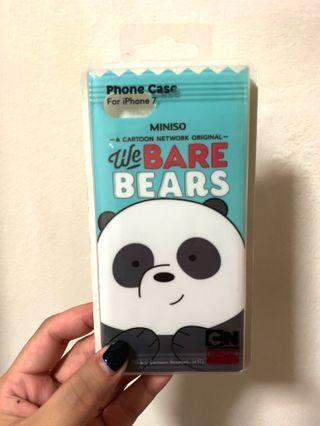 [BN] Miniso x We Bare Bears iPhone 7 Case