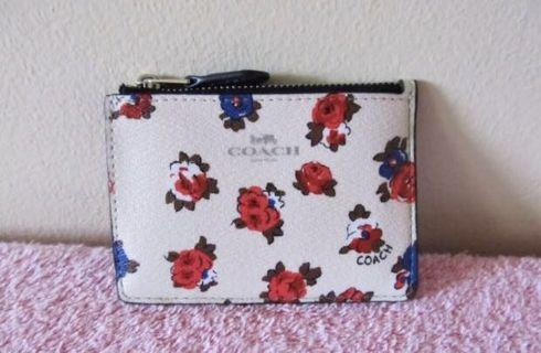 🚚 Coach mini coin and ID wallet