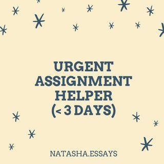 Urgent Assignment Helper
