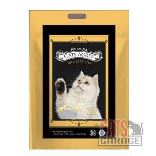 Premium Cats Agree Tofu Cat Litter - Lemonade 7L