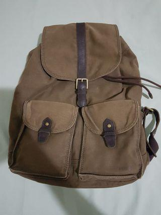 #BAPAU tas ransel backpack Fossil